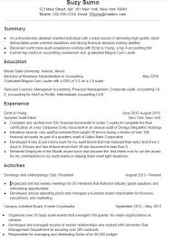 Effective Resume Examples Custom A Super Effective College Student Resume Sample And Tips MindSumo