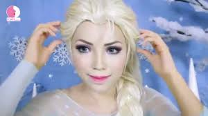 kittiesmama disney 39 s frozen elsa makeup tutorial full hd