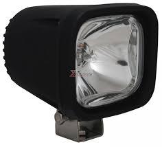 universal 4 square 100 watt halogen horizontal spot beam off road light clear