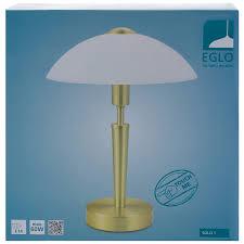 <b>Настольная лампа Eglo</b> «Solo 1» с сенсором 1xE14x60 Вт, цвет ...