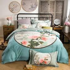 blue bedroom sets for girls. Cute Girl Bed Sets Blue Flower Bedding Girls Linen Queen King Size High End  Wedding Bedclothes . Bedroom For