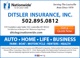 Ditsler Insurance Inc Nationwide Insurance Louisville KY Insurance Interesting Nationwide Insurance Quote