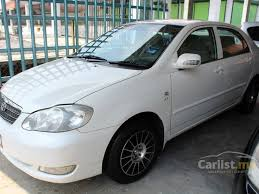 toyota corolla 2005 white. Interesting Toyota 2005 Toyota Corolla Altis E Sedan For White T