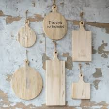 round and deli wood cutting board collection set of 5