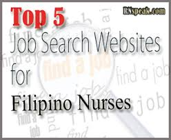 Top 5 Job Search Websites Top Five Job Search Websites For Filipino Nurses