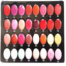 brand name lip gloss palettes professional makeup set portable 32 colours lip gloss makeup kits wholes in lip gloss from beauty health on