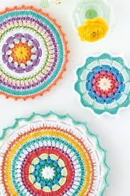 Colourful crochet mandala patterns Mollie Makes Impressive Crochet Patterns