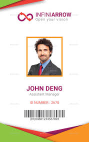 Business Id Template Multipurpose Business Id Card Templatedotnpix Graphicriver