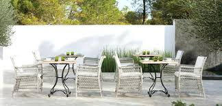 wicker outdoor dining furniture outdoor wicker dining chairs home depot