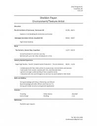 Resume Examples No Experience Resume Templates For High School Students With No Experience 56