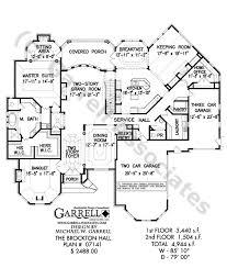 brockton hall house plan 07141 1st floor plan