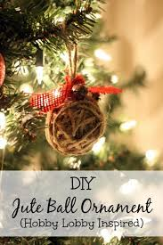 Decorative Balls Hobby Lobby DIY Jute Ball Ornament Hobby Lobby Inspired 93