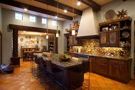 Kitchen: Adorable Kitchen Best 25 Mexican Style Kitchens Ideas On Pinterest  Hacienda In Cabinets from