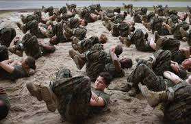 body weight workouts are an important part of military physical fitness