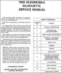 1990 oldsmobile silhouette van repair shop manual original this manual covers all 1990 oldsmobile silhouette models this book measures 8 5 x 11 and is 1 5 thick