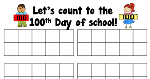 Lets Count To The 100th Day Of School Pdf 100 Days Of
