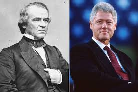 Image result for portrait of presidents facing impeachment