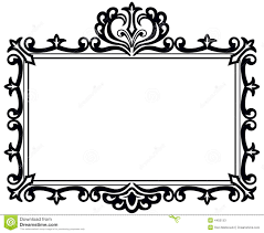 vintage black frame. Download Black Antique Frame Stock Vector. Illustration Of - 4455153 Vintage E