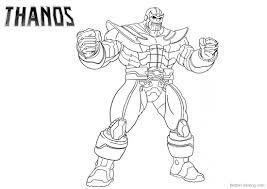 Thanos Fortnite Kleurplaat Malvorlagen Fortnite Mini Tomatohead