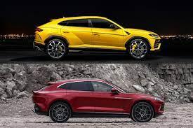 It comes with a launch control, too. Aston Martin Dbx Vs Lamborghini Urus How Do They Compare Carbuzz