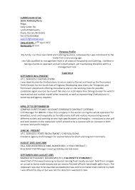 Chefrtie Job Description Resume Cv Template And Duties