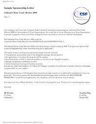 Sponsorship Proposal Letter Menu Planner Templates