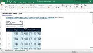 Loan Amortization Schedule Calculator Eloquens