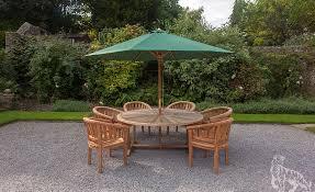 sherringham 180cm round and 6 sherringham chairs 06