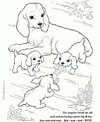 Small Picture Coloring Page Cute Dog And Cat Coloring Pages hermesboardcom