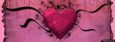 black and pink heart facebook cover valentines day heart images for facebook