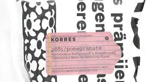 makeup beauty fashion korres cleansing make up removing wipes in pomegranate review photos