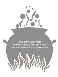 <b>Witch</b> Cauldron <b>Pumpkin Carving Stencil</b> | <b>Pumpkin carving patterns</b> ...