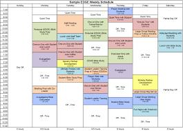 Sample Schedules Sample Schedule Weekly Schedule Sample Cityesporaco 7
