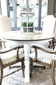 F Dining Table Makeovers Weathered Oak Makeover A Banged Up  Diy Glass