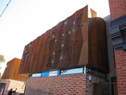 weathering steel bestknown under the trademark corten steel or xlerplate this product exhibits superior corrosion resistance over regular carbon corten panels t60