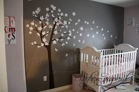 26 pink and brown wall decals cherry tree wall decal nursery wall decals trees wall sticker mcnettimages com