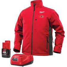 Milwaukee Heated Jacket Light Colors Milwaukee 202 20 Heated Jacket Kit 12v Lithium Ion Medium Red