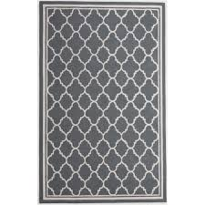 bowery hill 5 x 8 new zealand wool rug in slate gray