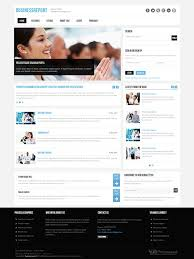 Free Website Templates Html New Business Report Joomla Business Template