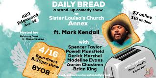 Daily Bread: a stand-up comedy show - Atlanta Buzz