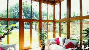 oak stained garden room interior barn conversion sus extensions ideas david salisbury stain