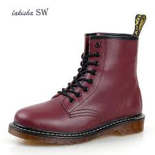 new men s boots martens leather winter warm shoes motorcycle mens ankle boot doc martins autumn men oxfords shoes size 35 45