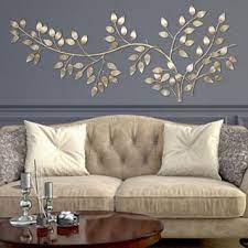 decor flowing leaves metal wall decor