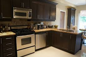 Espresso Painted Cabinets All Things Created Rust Oleum Cabinet Transformations Kitchen Re