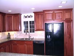 42 inch cabinets 8 foot ceiling install