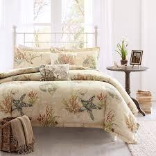 beach themed comforters coastal bedding king size anchor bedspread