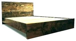 Cal King Bed Frame Platform Bed Frame King Queen Platform Bed Frames ...