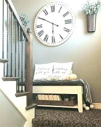 distressed wall decor distressed wall clocks wall decor with clock painted the dark espresso colored wood