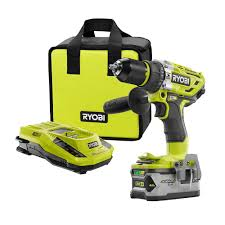 ryobi tools home depot. ryobi 18-volt one+ brushless hammer drill kit tools home depot y