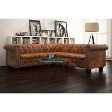 l shaped furniture. Image Is Loading Antique-Corner-Sofa-Chesterfield-L-Shaped-Settee-Brown- L Shaped Furniture P
